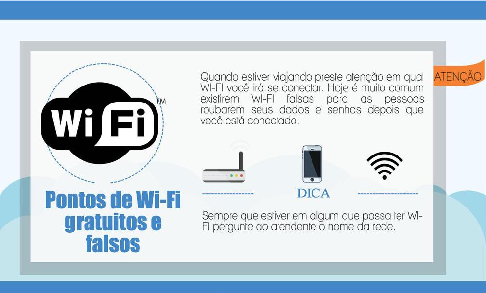 É tão fácil nos descuidarmos com elementos comuns de nosso dia-a-dia, como a conexão Wi-Fi