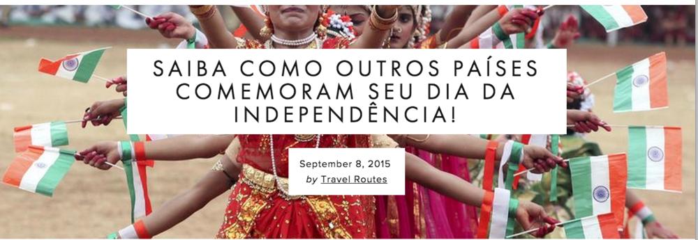 Dia de independência é geralmente comemorado com festas e desfiles mas alguns países comemoram de maneiras menos convencionais que outros.  Leia mais...