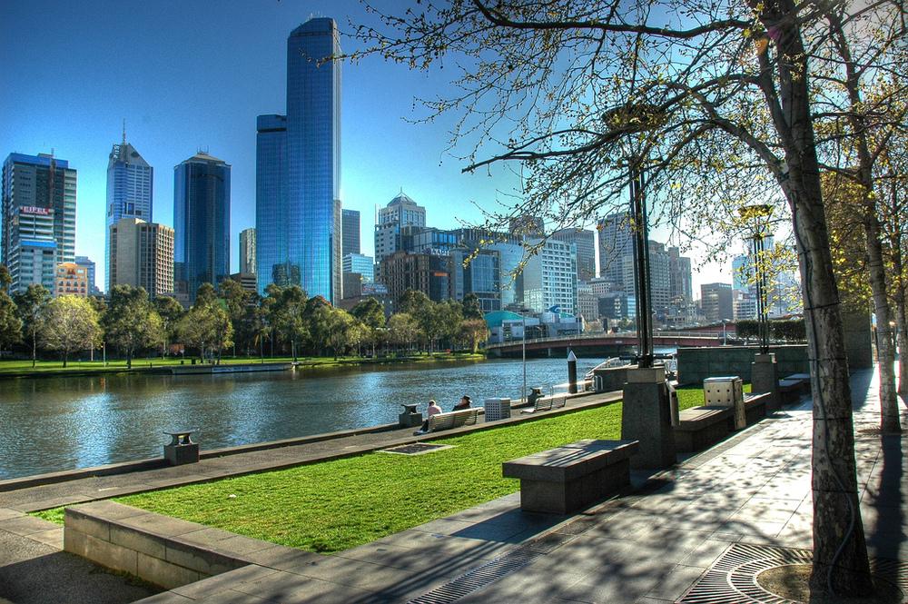 O horário entre uma aula e outra pode ser muito bem aproveitado em Melbourne