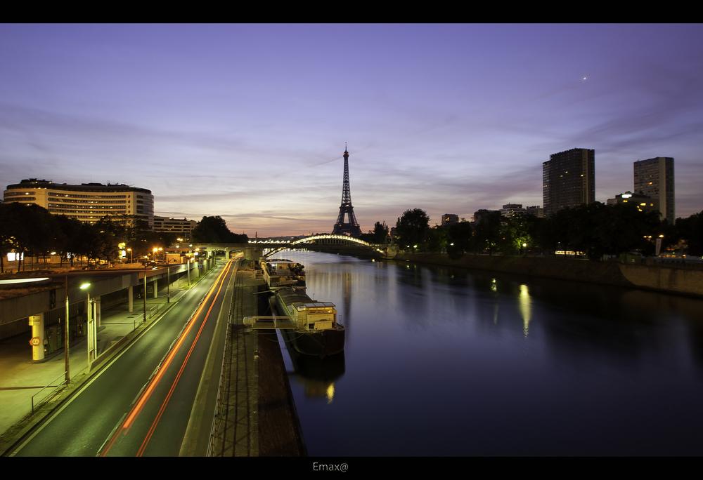 Um dos diversos ângulos da capital francesa