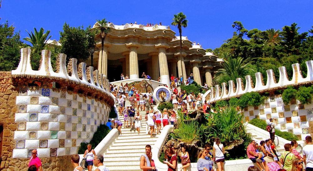 roteiro barcelona, atrações turísticas barcelona,Parque Güell barcelona,Parque Güell espanha, barcelona dicas imperdiveis, barcelona dicas turismo, barcelona dicas de viagem