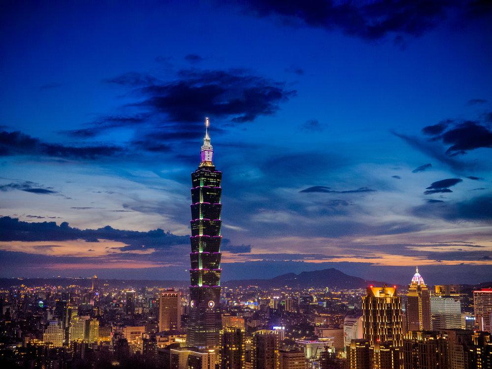 Taiwan em janeiro.