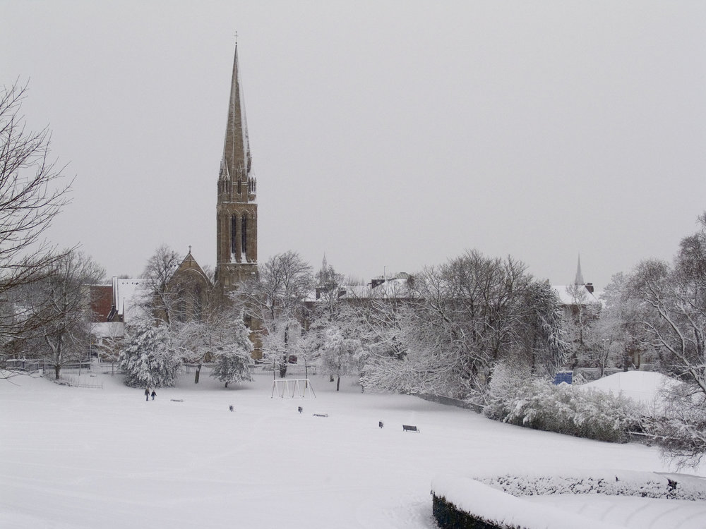 Glasgow no inverno.