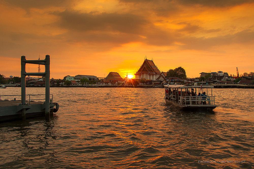 BANGKOK: DICA PARA ANDAR DE FERRY PELO RIO CHAO PHRAYA  -