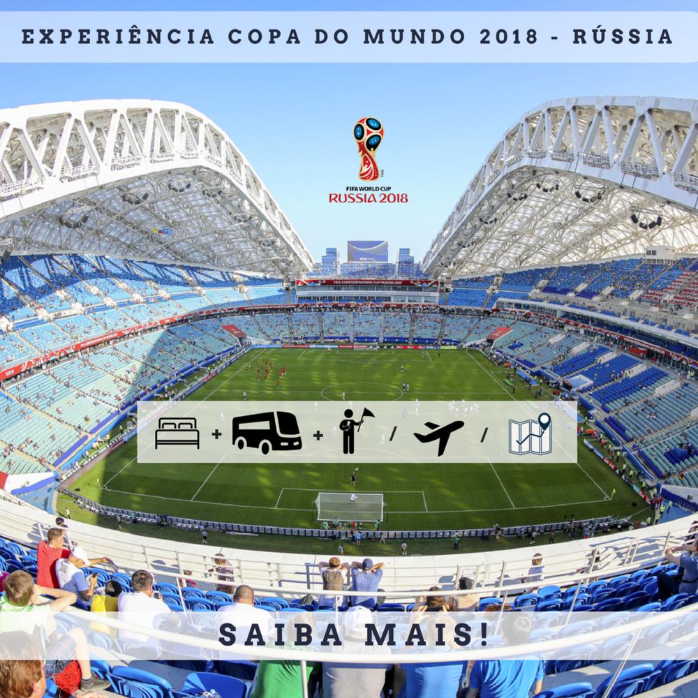 Copa do mundo - 2018 - Russia - Viagem