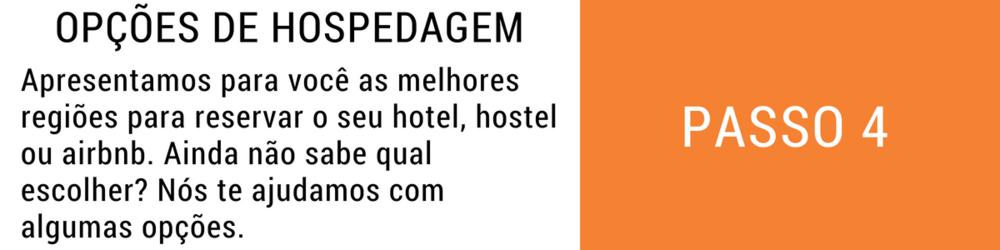 Apresentamos para você as melhores regiões para reservar o seu hotel, hostel ou airbnb. Ainda não sabe qual escolher? Nós te ajudamos com algumas opções.