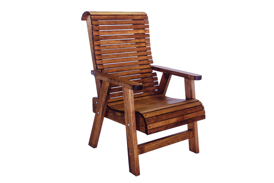 "Highback Chair  26 3/4"" W X 34 3/4"" D X 43 3/4"" H"