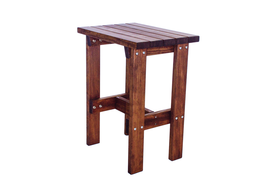 "Rectangle End Table, Bar Height  23"" W X 16 3/4"" D X 29"" H"