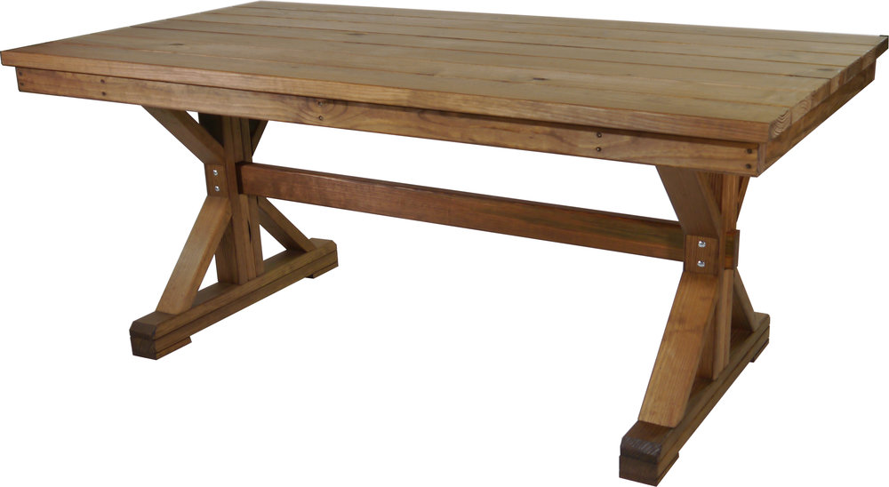 "6' Farmhouse Table  71"" Long X 37 1/2"" Deep X 30"" Tall"