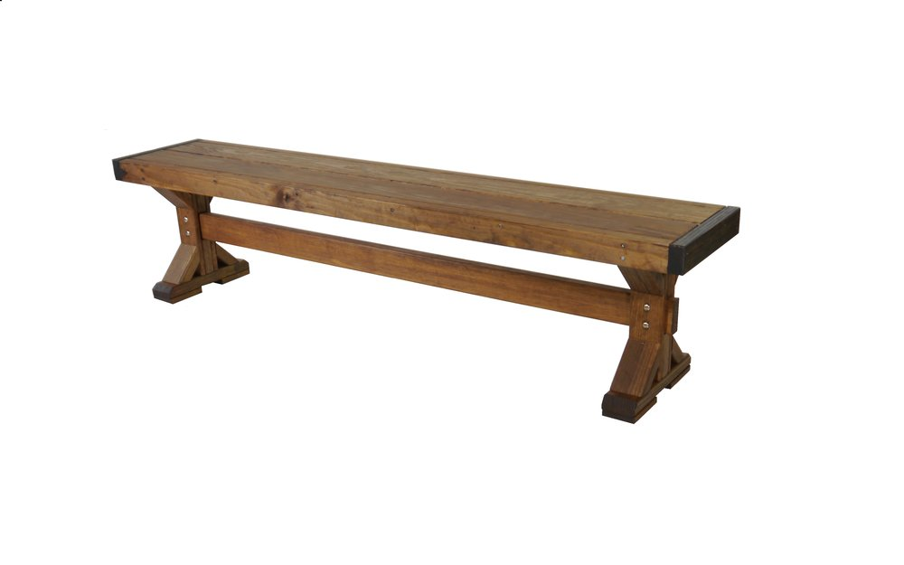 "Farmhouse Bench  71"" W X 13 1/2"" D X 17"" H"