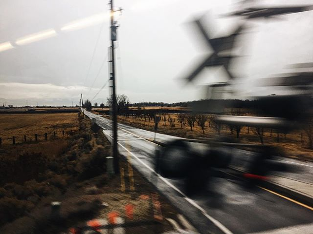 Rain & Railroads. Get GLOOMY with me.