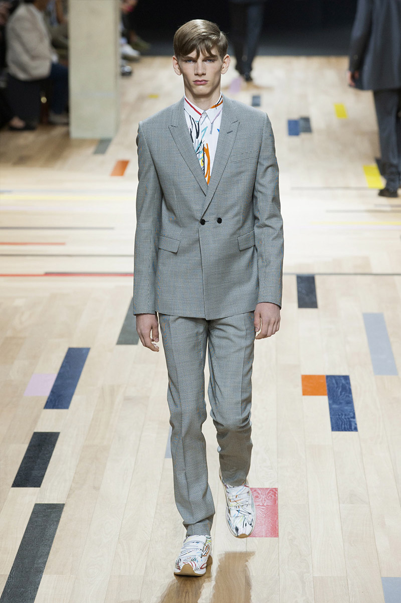 fefa4e82f78 Kris Van Assche presented his Spring Summer 2015 collection for Dior Homme  during Paris Fashion Week