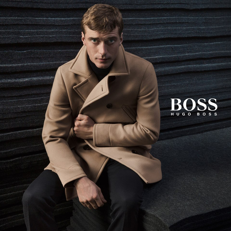 Clément Chabernaud fronts the Fall/Winter 2015 campaign of BOSS by Hugo Boss, photographed by Inez & Vinoodh.