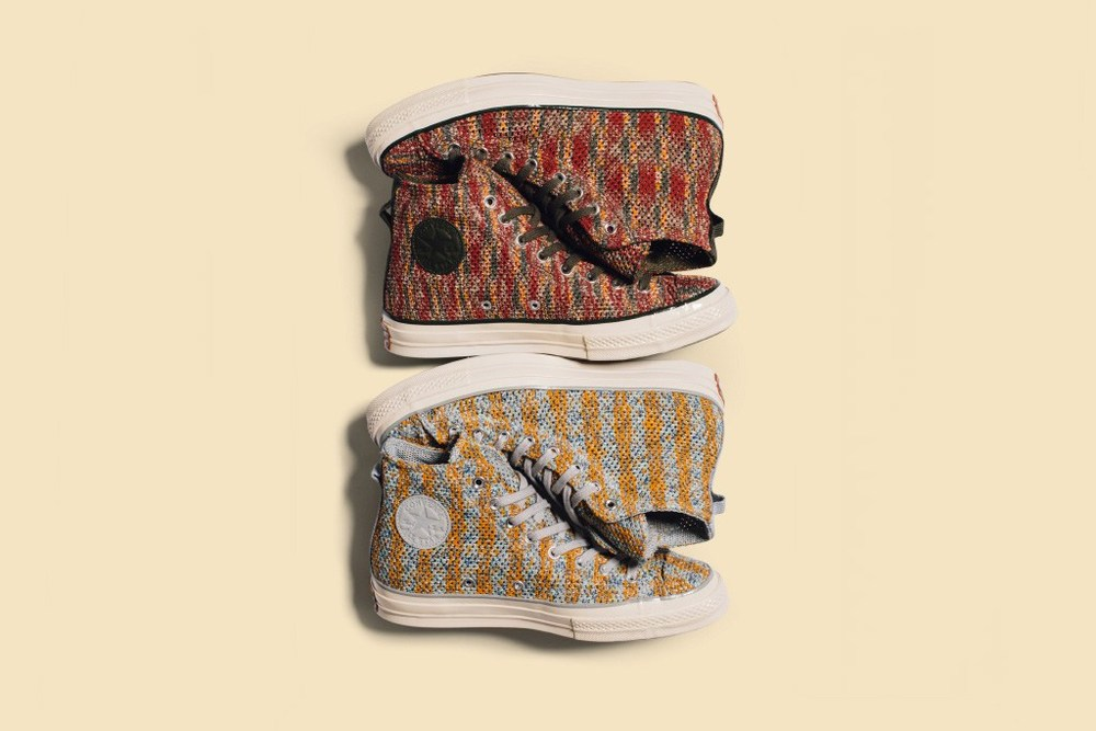 a237ae2c8a276b Italian fashion house Missoni teams up with Converse yet again for a  seasonal collaboration on the Chuck Taylor All Star  70 Hi. The iconic  silhouette is ...