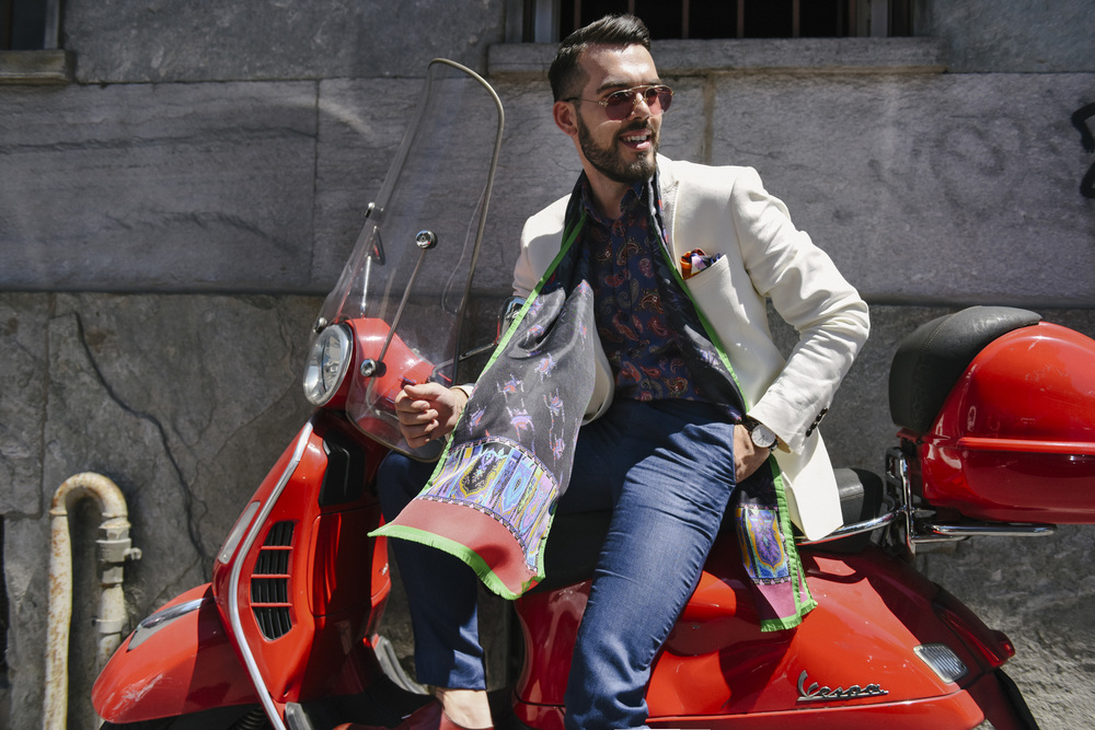 In Milan Fashion Week for the Etro Spring-Summer 2017 Collection
