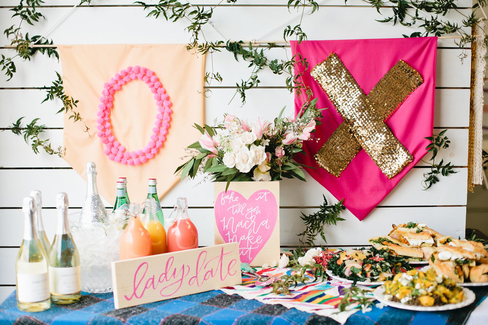 A Galentine's Day DIY Party