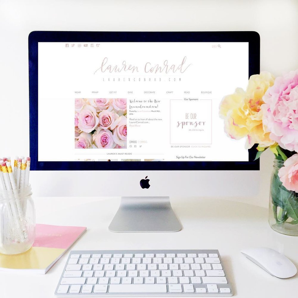 Welcome to the New LaurenConrad.com!