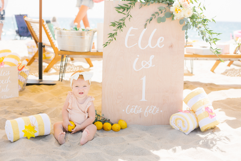Italian Beach Party Themed 1st Birthday
