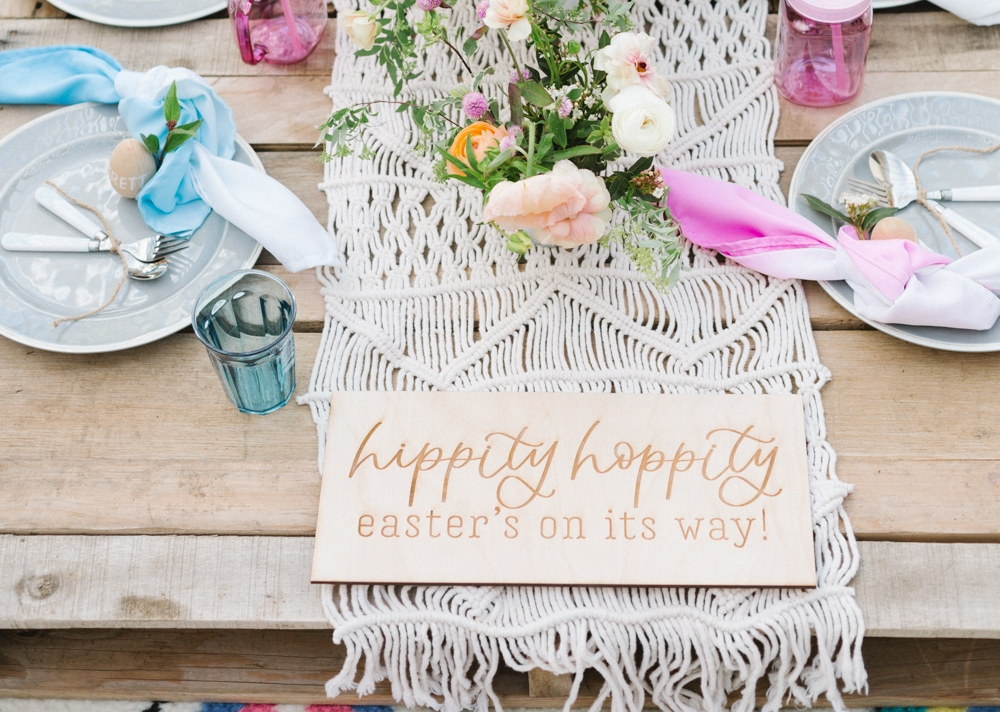 Bright Boho Kids Easter Party