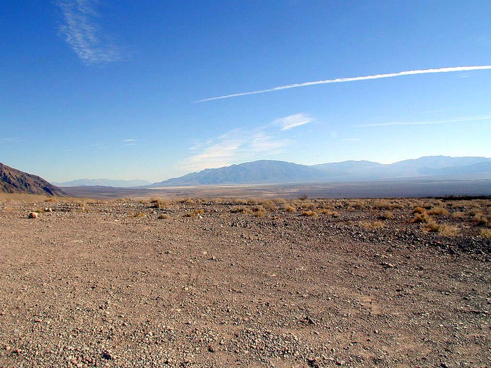 "Death valley, looking southward from Titus Canyon. 36°49'16.1""N 117°10'23.2""W"