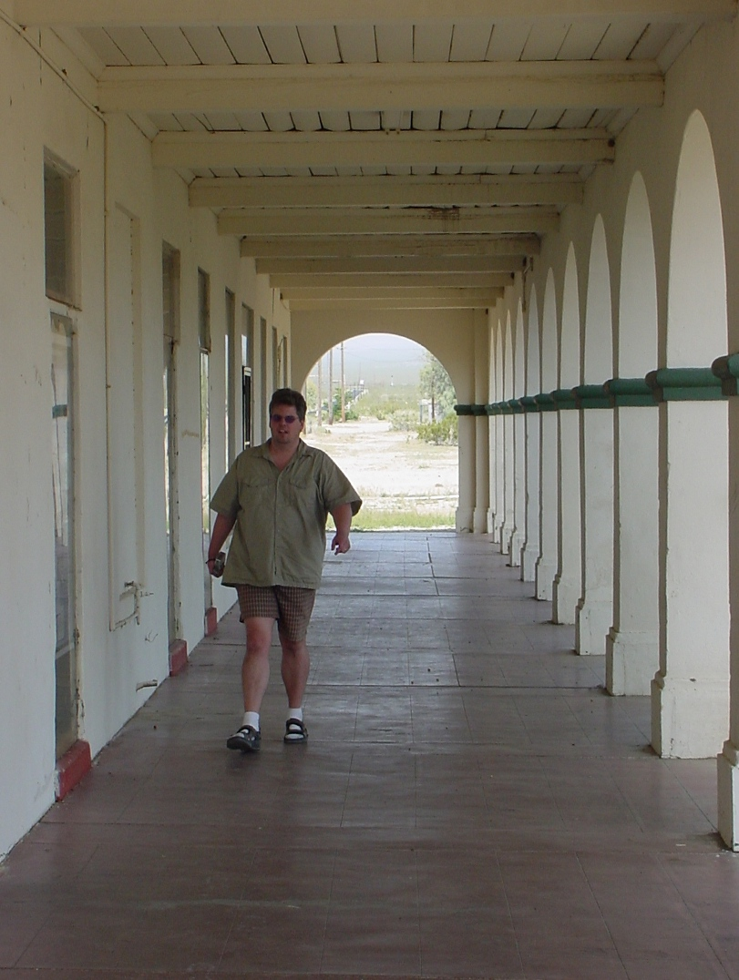 Mike wanders around the Kelso train depot