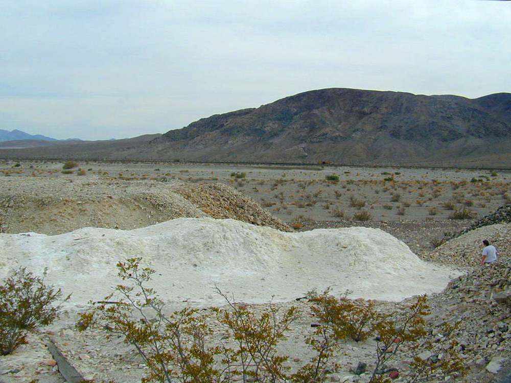 Tailings from the mine