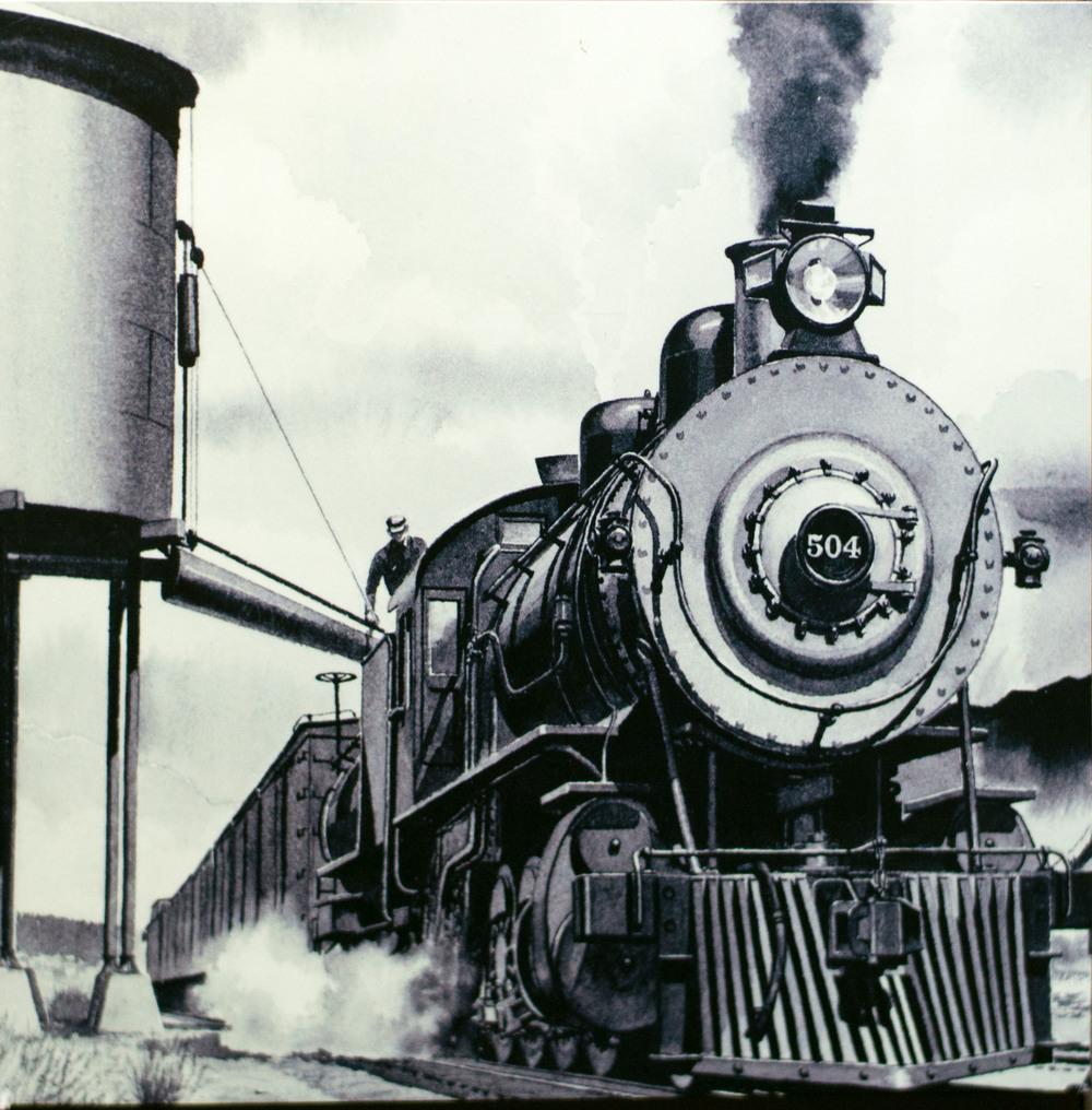504 Model Steam Locomotive