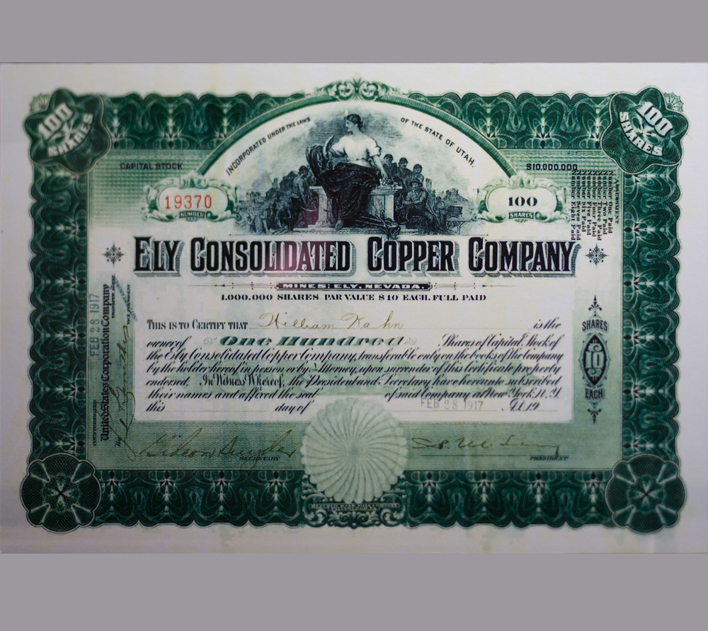 Ely Consolidated Copper Company