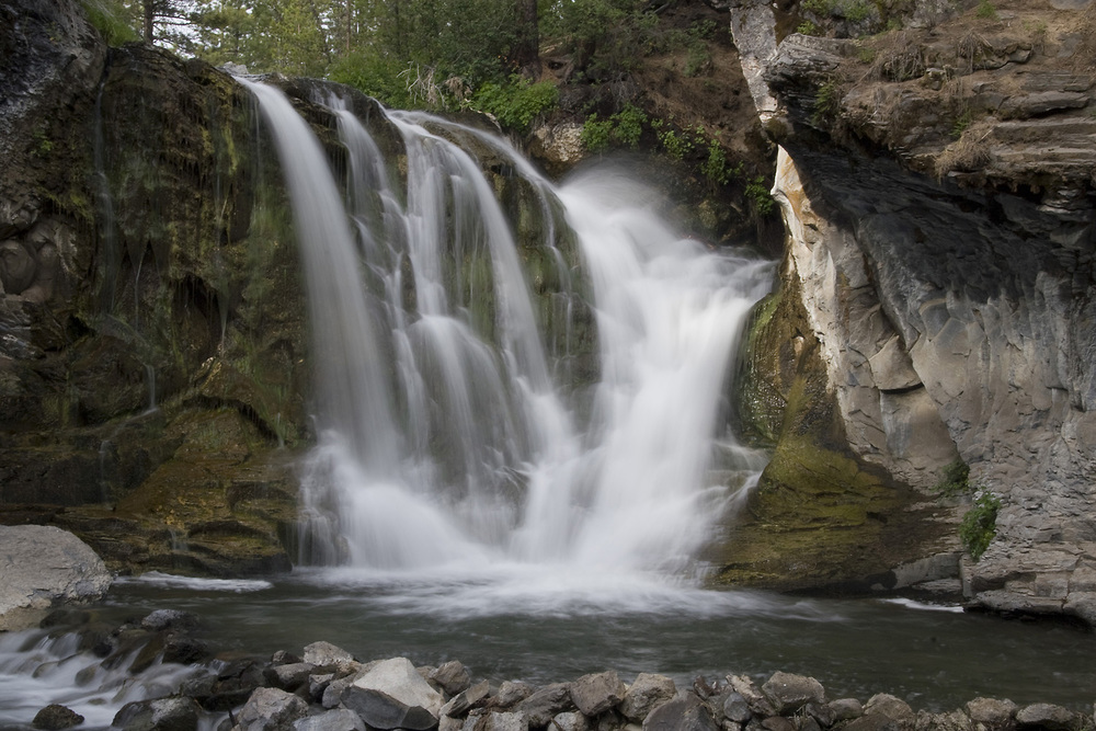 McKay Falls in Eastern Oregon