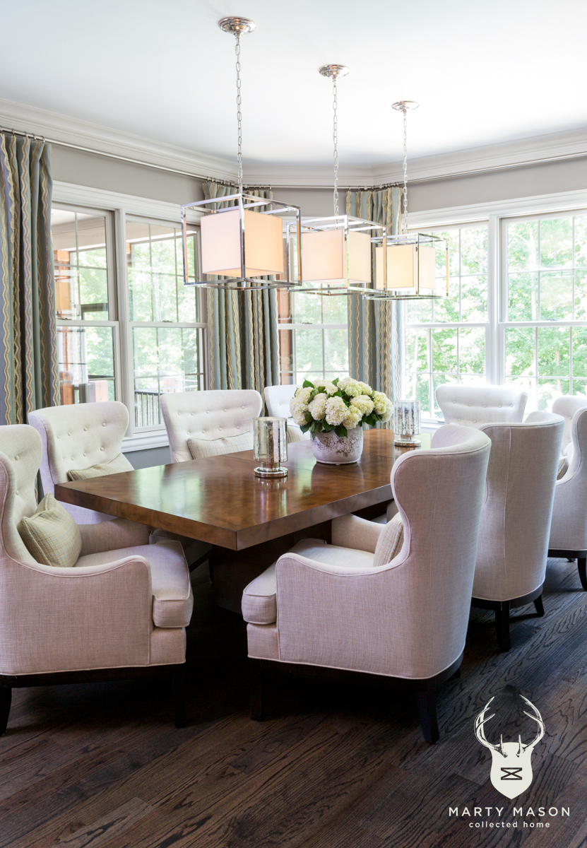 How To Choose Chairs For Your Dining Room Table — Marty Mason Design ...
