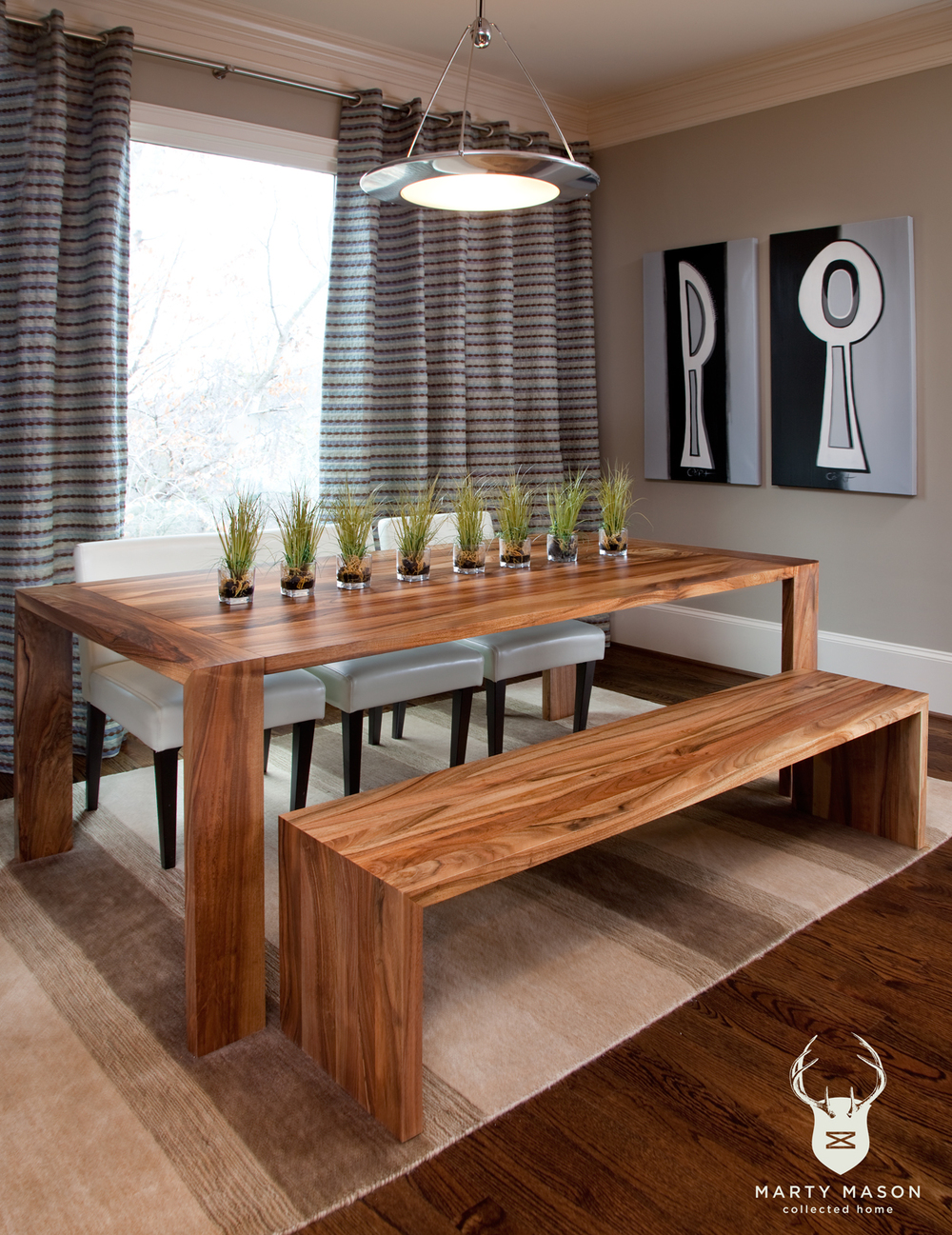 Mmch Dining Table With Bench
