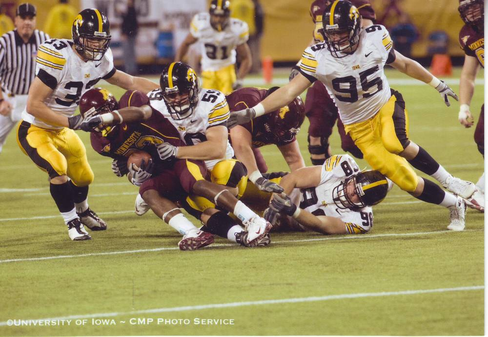 Tackle for a loss against Minnesota