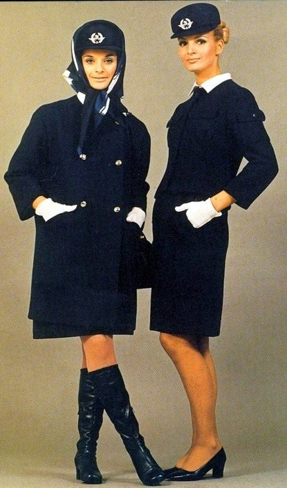 Balenciaga for Air France 1968