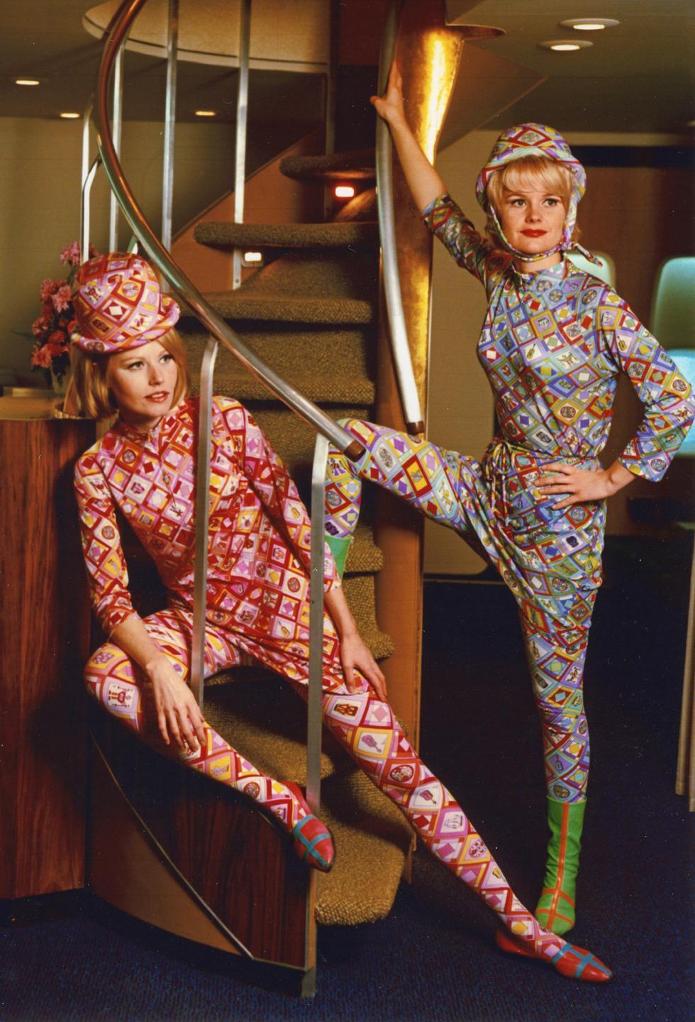 Emilio Pucci for Braniff Airlines 1965