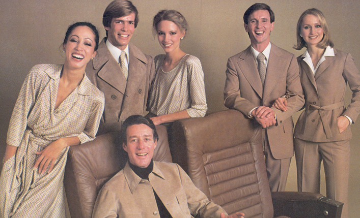 Halston for Braniff Airlines 1977