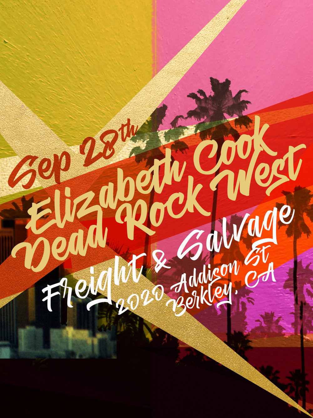 SEPTEMBER 28, 2017 w/ SIRIUS RADIO OUTLAW DJELIZABETH COOK - Live at Freight & Salvage in Berkley, CA'MORE LOVE'!