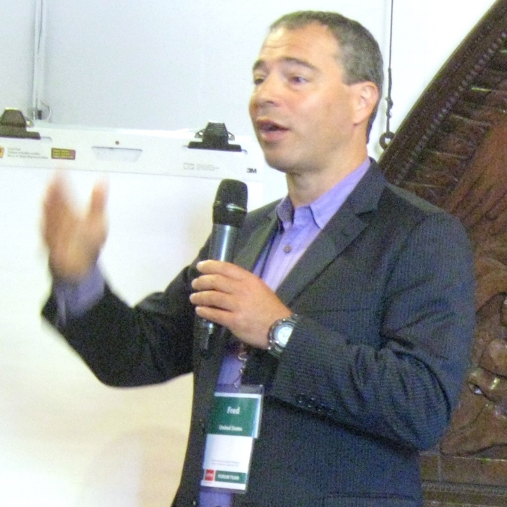 Fred Kofman, USA President of Antigua Forum 2014  Executive coach and vice-president of leadership and organizational development at LinkedIn; author of Conscious Business