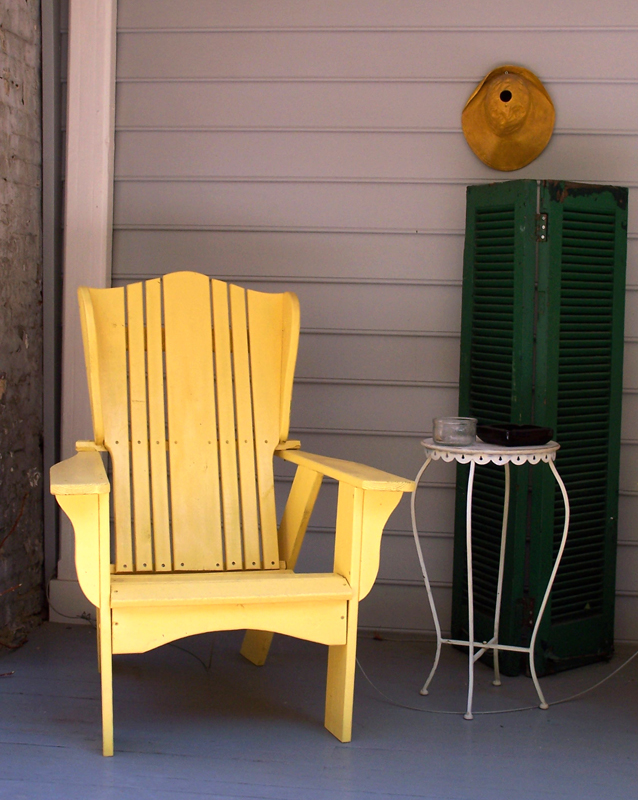 Yellow Chair, Annapolis