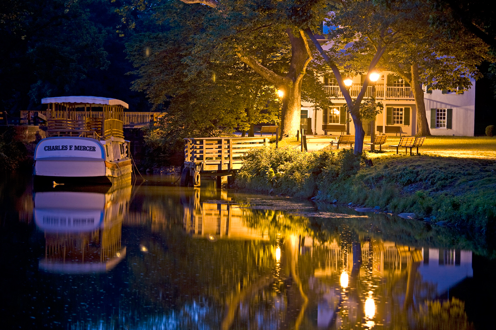 Great Falls Tavern, Summer Evening