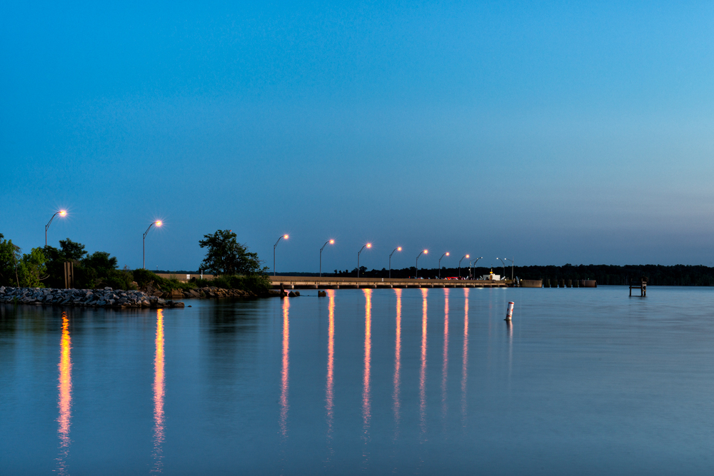 James River, June Evening