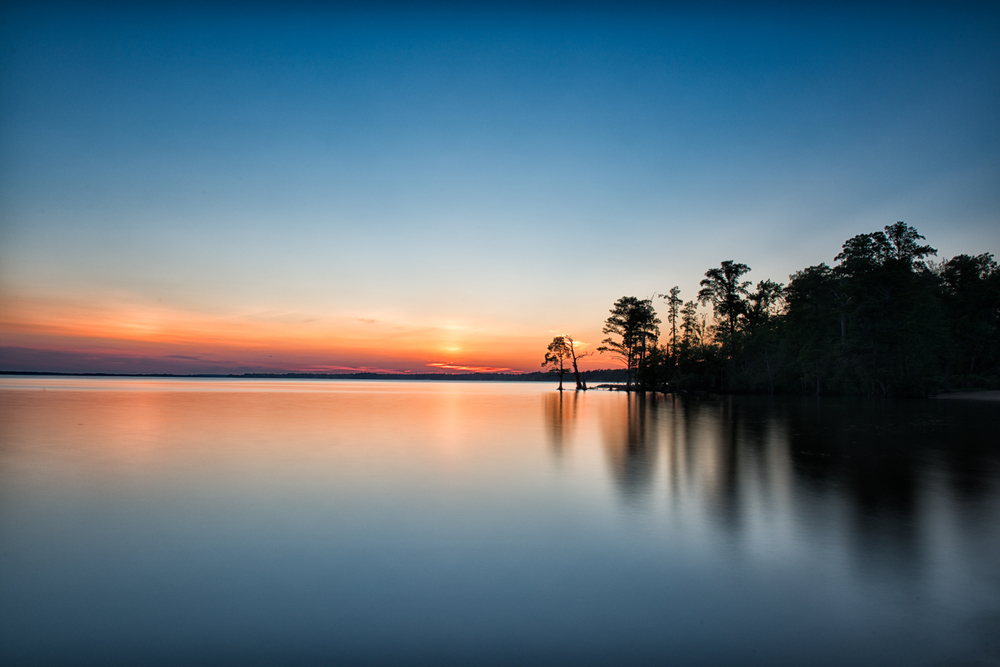 James River, June Evening