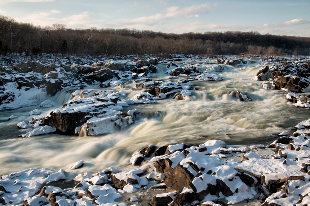 Great Falls, February Afternoon