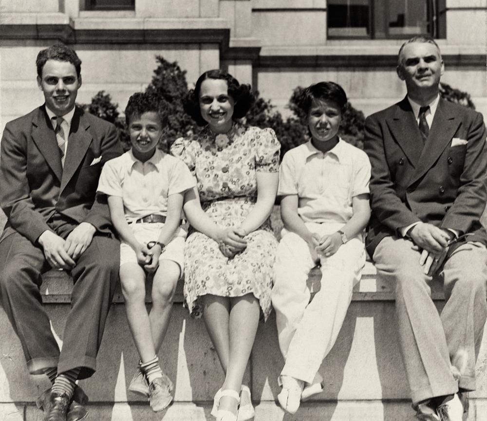 Doug, Richard, Kathryn, Buddy and Harry