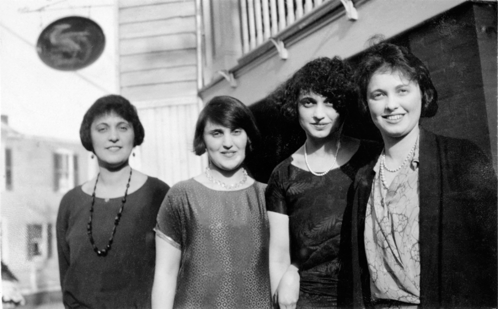 The Gottlieb Sisters: Irene, Isabel, Kathryn, Florence