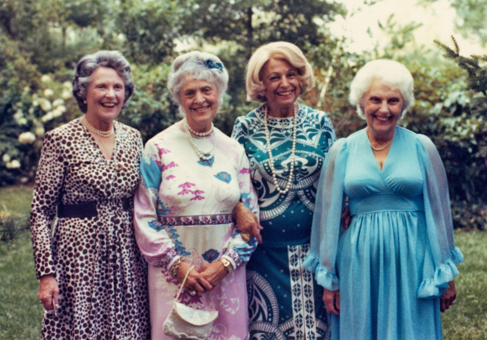 The Gottlieb Sisters: Florence, Irene, Kathryn, Isabel