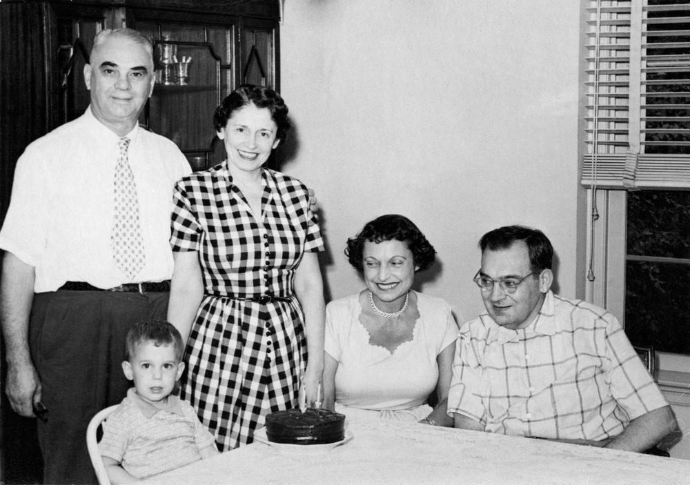 Harry, Sylvia, Kathryn and Eli at Lee's 3rd Birthday
