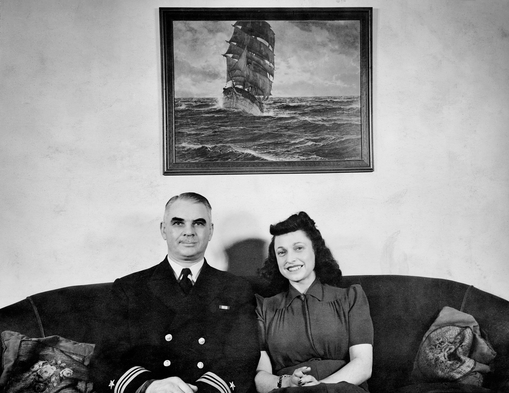 Harry and Kathryn, 1942