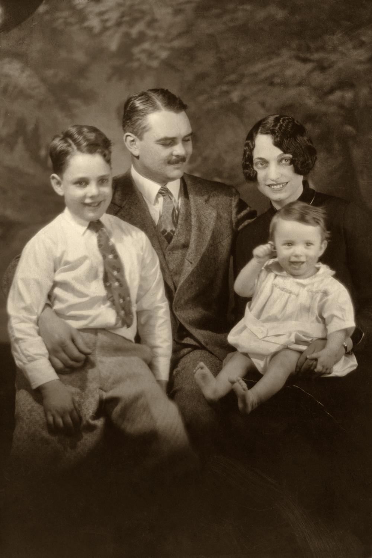 Douglas, Harry, Kathryn and Buddy