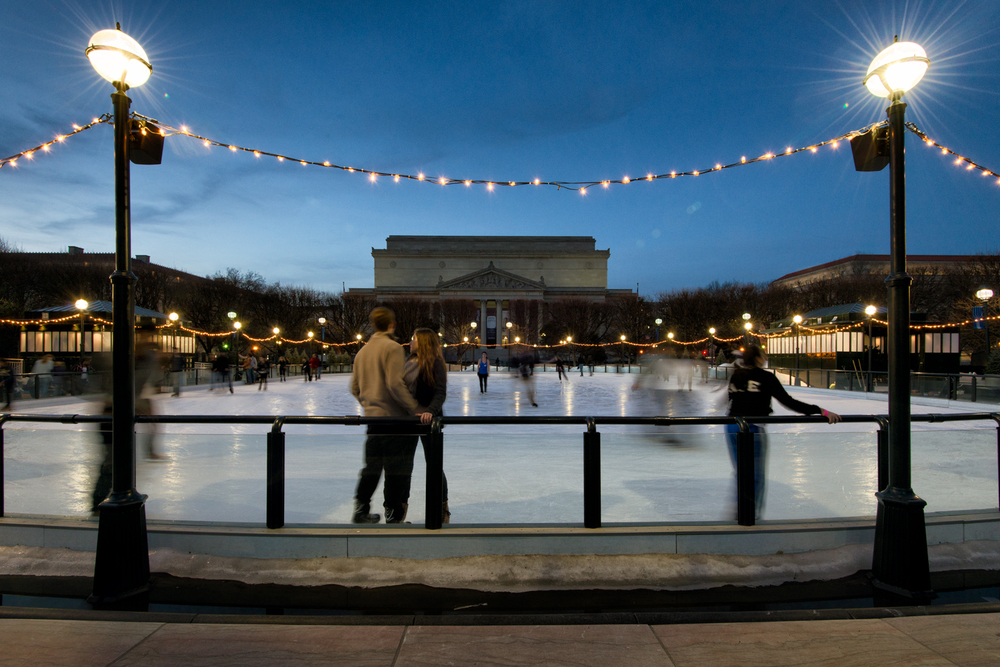 National Archives, March Evening