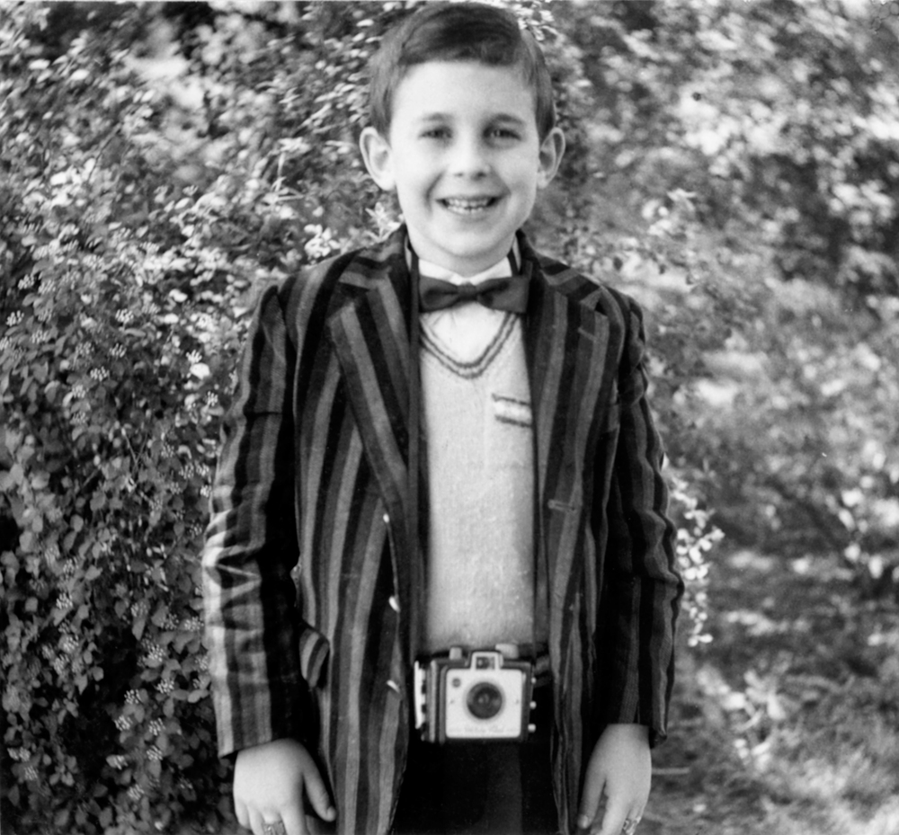 Lee with his first camera